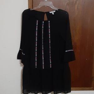 Speechless black tribal dress medium